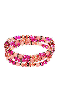 Nine West Set Of Three Stretch Bracelets