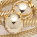 Jewelry & Watches: Nine West Fashion Jewelry: Gold Nine West Ignite the Night Stretch Bracelet
