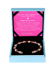 Chelsea Charles Count Me Healthy Galaxy Gold Bracelet