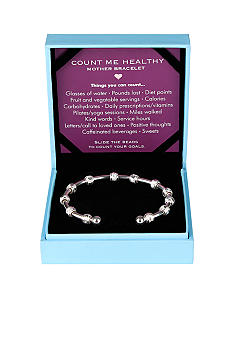 Chelsea Charles Count Me Healthy Mother Silver Bracelet