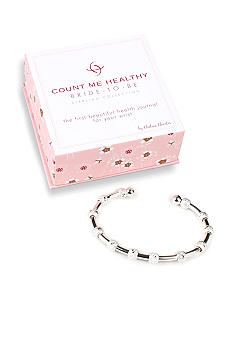 Chelsea Charles Count Me Healthy Bride-to-Be Silver Bracelet