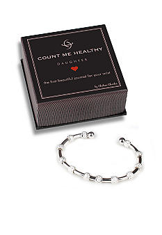 Chelsea Charles Count Me Healthy Daughter Silver Bracelet