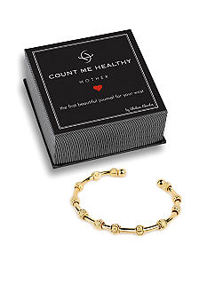 Chelsea Charles Count Me Healthy Mother Golden Bracelet