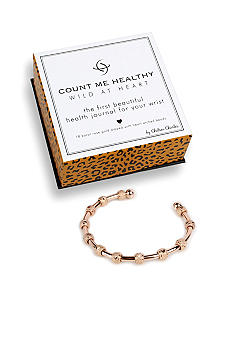 Chelsea Charles Count Me Healthy Wild at Heart Rose Gold Bracelet