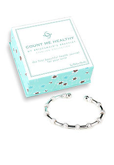 Chelsea Charles Count Me Healthy My Bridesmaid Silver Bracelet