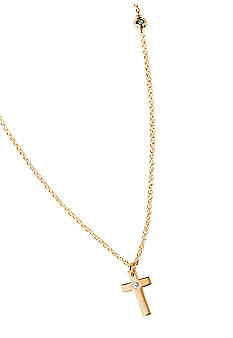 Chelsea Charles Gold Cross Necklace