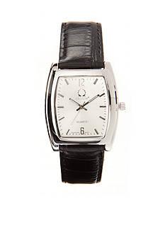 Legion Men's Black Leather Watch
