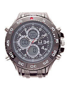 Legion Hematite Link Watch