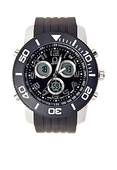 Legion Black Multifunction Strap Watch