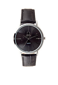 Legion Black Analog Strap Watch