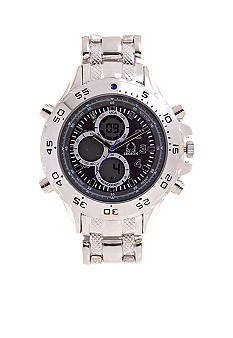 Legion Silver Multi-function Link Watch