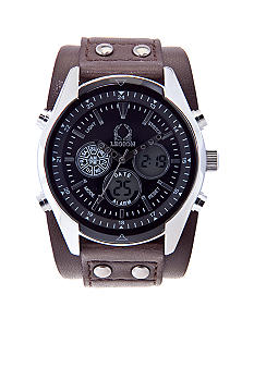 Legion Brown Cuff Strap Watch
