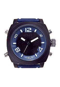 Legion Blue Rubber Strap Watch