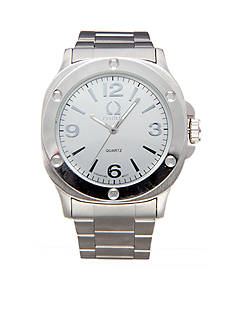 Legion Brushed Metal Link Watch