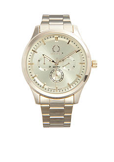 Legion Men's Gold-Tone Bracelet Watch