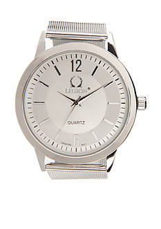 Legion Men's Silver Mesh Watch
