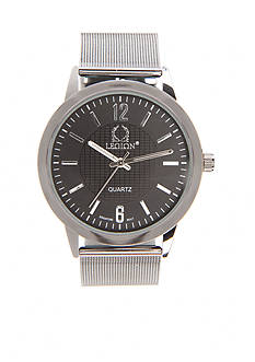 Legion Men's Gunmetal Mesh Watch