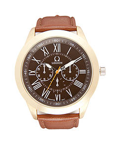 Legion Men's Gold-Tone Classic Watch