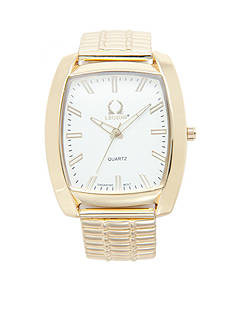 Legion Men's Gold-Tone Stretch Watch