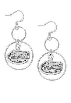 Legacy Florida Silver Hoop Earrings