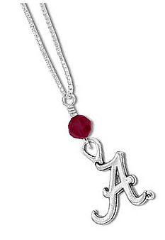 Legacy Alabama Crystal Drop Necklace