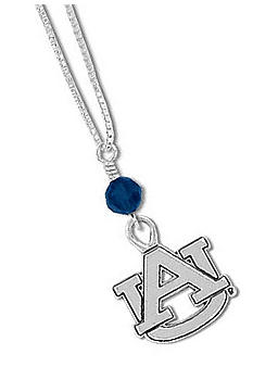 Legacy Auburn Crystal Drop Necklace