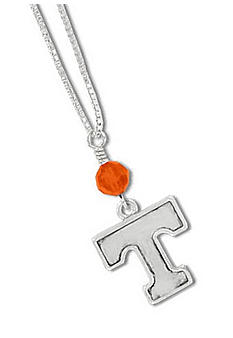 Legacy Tennessee Crystal Drop Necklace