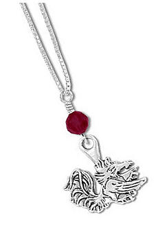 Legacy University of Southern California Crystal Drop Necklace