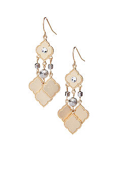 New Directions Gold Chandelier Drop Earrings