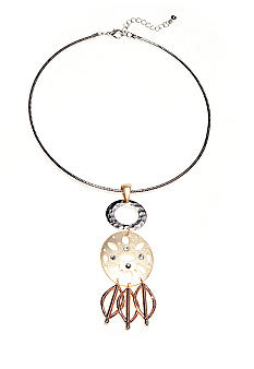 New Directions Collar Pendant Necklace