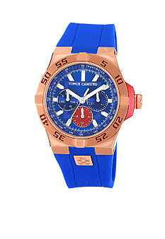 Vince Camuto The Master Blue Watch