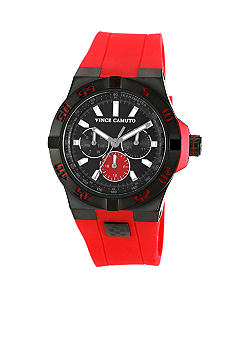 Vince Camuto The Master Red Watch