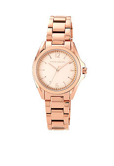 Vince Camuto Classic Rose Gold Tone Bracelet Watch