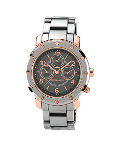 Vince Camuto Grey and Rose Gold Multifunction Bracelet