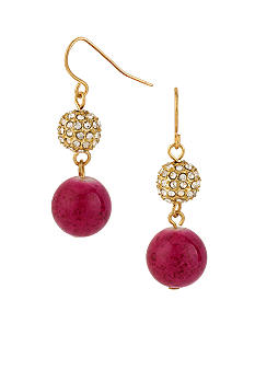 CYNTHIA Cynthia Rowley Pave Crystal Drop Earrings