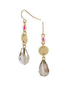 CYNTHIA Cynthia Rowley Black Diamond Drop Earrings