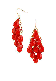 CYNTHIA Cynthia Rowley Red Kite Drop Earrings