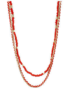 CYNTHIA Cynthia Rowley Red Tonal Necklace