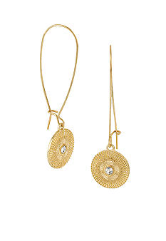 CYNTHIA Cynthia Rowley Casted Gold Drop Earrings