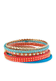CYNTHIA Cynthia Rowley Multi-Colored Bangle Bracelet Set
