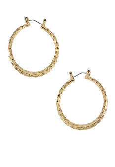 CYNTHIA Cynthia Rowley Gold Hoop Earrings