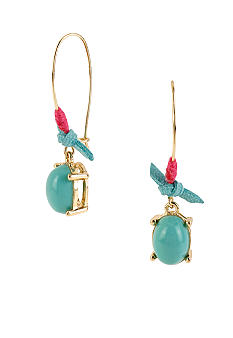 CYNTHIA Cynthia Rowley Turquoise Bead Drop Earrings
