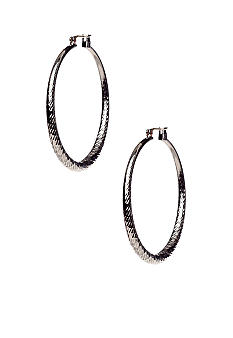 ABS by Allen Schwartz Textured Hoops