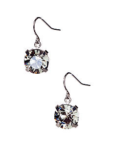 ABS by Allen Schwartz Single Stone Drop Earrings