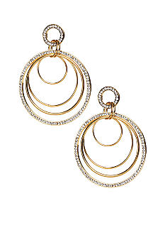 ABS by Allen Schwartz Multiple Rings Gypsy Earrings