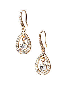 ABS by Allen Schwartz Small Teardrop Earrings