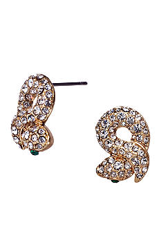 ABS by Allen Schwartz Snake Stud Earrings