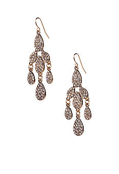 ABS by Allen Schwartz Small Pave Chandelier Earring