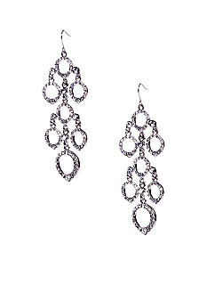 ABS by Allen Schwartz Round Chandelier Earrings