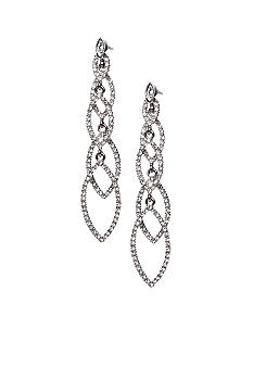 ABS by Allen Schwartz Navette Linear Earrings